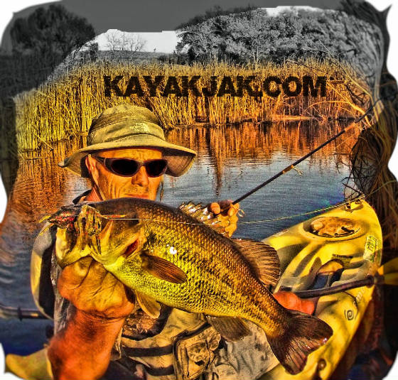 Kayak Fishing with Kayakjak's Outfitters
