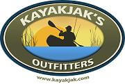 Kayakjak's Outfitters Logo