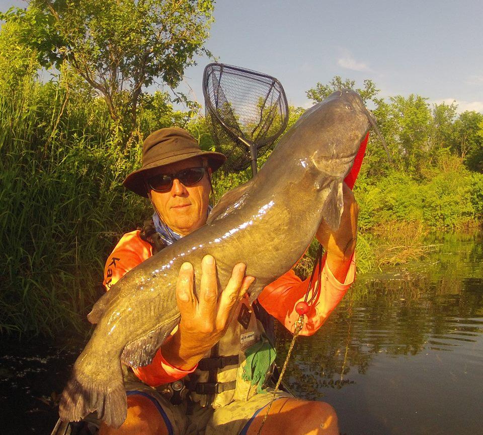 Wildwood Catfish Kayak fishing